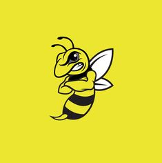 Watford FC - Hornet logo Vespa Logo, Logo Bee, Bee Clipart, Watford Fc, Dad Birthday Cakes, Yellow Jackets, Bee Tattoo, Animated Cartoons, Cool Logo