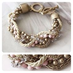 Love this twisted bracelet.