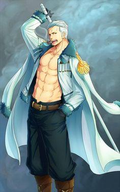 Anime, Fanart, ONE PIECE, Pixiv, Marine (One Piece)