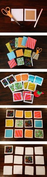 Create a personalized memory game! A TUTORIAL! Perfect gift for the special children in your life!