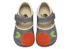 See Kai Run Gray Mary Jane Girls Toddlers from seekairun.com - cool baby shoes, toddler shoes, kids shoes and baby booties.