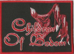 CHILDREN OF BODOM Hand Woven Patch Sew On Official Band Merch