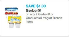 Over $6 in Gerber Coupons! | Our Military Life Blog http://blog.mymilitarysavings.com/over-6-in-gerber-coupons/