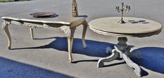 Restyling Shabby Chic Tables... Shabby Chic Vicky Interiors