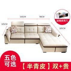 Купить Кожаный диван Di Pu в интернет-магазине с Таобао (Taobao) из Китая, низкие цены | Nazya.com Sofa, Couch, Love Seat, Furniture, Home Decor, Decoration Home, Room Decor, Settee, Small Sofa