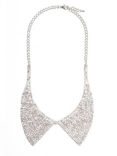 Fabulous sparkly collar at Bauble Bar, and the price is amazing!