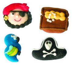 personaggi in zucchero - pirati www.dolcementeweb.com
