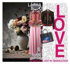"""Sin título #632"" by angstylist on Polyvore featuring moda, Gucci, Fendi, Roksanda, Dolce&Gabbana y Yves Saint Laurent"