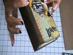 YouTube....Tim Holtz is amazing and this is a video from someone who took a class ....great stuff!!!!