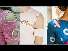 latest shoulder cut neck design | shoulder cut sleeves design 2017 | by beautiful you - YouTube