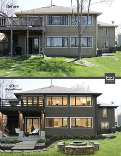 15 Exterior Paint Colors That Are On-Trend for 2021 | brick&batten Outside House Paint Colors, Stucco House Colors, Exterior Paint Colors For House, Paint Colors For Home, Exterior Colors, Exterior Design, Exterior Gray Paint, Stucco Exterior, Modern Exterior