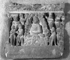Relief Depicting the Buddha Performing the Miracle at Uruvilva, late century. Slate, 12 x 12 in. x 32 cm). Brooklyn Museum, Creative Commons-BY (Photo: Brooklyn Museum, Buddhist Art, Ancient Art, Buddhism, Civilization, Objects, Museum, Slate, Sculpture, Sajid Khan
