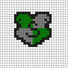 Slytherin - Harry Potter Perler Bead Pattern