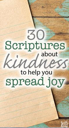 We all need a little bit of kindness, especially right now. These 30 bible verses about kindness will inspire you to spread it around! Verses About Kindness, Kindness Scripture, Kindness Quotes, Scripture Quotes, Bible Scriptures, Kindness Ideas, Kindness Activities, Christian Quotes, Christian Women