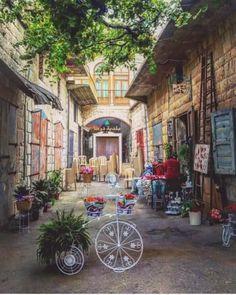 Douma old souk Souk, Lebanon, Old Houses, Amman