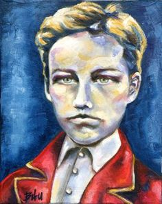 "Saatchi Art Artist Clara de Bobes; Painting, ""Arthur"" #art Saatchi Art, Oil On Canvas, Original Paintings, Artist, Paintings, Artists"