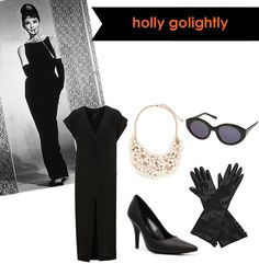 Halloween next year - I already have the gloves, cigarette holder and shoes.