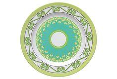 "BONGENRE   S/4 Melamine Picnic Dessert Plates   8""   40.00 retail"