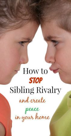 How to Stop Siblings from Fighting -- Great tips and resources for sibling rivalry! {parenting, discipline, sibling fighting, sibling rivalry, peaceful home, motherhood} #siblingrivalry #ParentingDiscipline #ParentingFighting