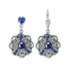 In Love With Blue Earrings   Anne Koplik Designs