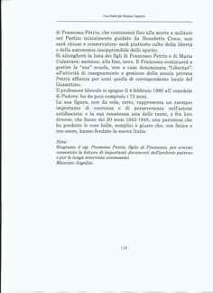 """Scritto (marzo 2015) dal prof. Maurizio Angelini, Coordinatore Regionale Anpi Veneto. Tratto da """"Racconti e Ricordi sulla Resistenza in Riviera del Brenta"""" ne """"Una stele per Romeo Isepetto""""."""