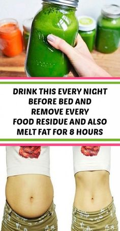 Subsrecipes: Drink this Every Night Before Bed and Remove Every Food Residue and Also Melt Fat for 8 Hours Weight Loss Drinks, Weight Loss Smoothies, Fast Weight Loss, How To Lose Weight Fast, Detox Smoothies, Fruit Smoothies, Smoothie Recipes, Detox Drink Before Bed, Drinks Before Bed
