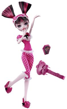 Monster High Dead Tired Draculaura Doll - Doll