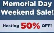 HostGator Memorial Day Sale: Flat 50% Off on Web Hosting & Domains