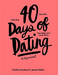 Book Pre-order is available now! 40 Days of Dating: An Experiment by Jessica Walsh et al., http://www.amazon.com/dp/1419713841/ref=cm_sw_r_pi_dp_sLNbub165CZ15