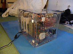 TIM-8, una pequeña computadora de 8 bits diseñada con relés  (TIM-8, a small 8 bits computer designed with relays) 8 Bits, Creative, Blog, Paper Envelopes, Electronic Circuit, Blanco Y Negro, Activities, Cards, Bands