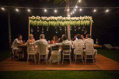 Natália Fusco e Bruno Dias não pensaram duas vezes antes de oficializar a união com um casamento em Trancoso! E o destination weddingnão poderia combinar
