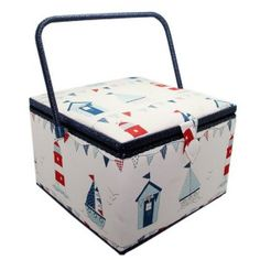 Sewing Box Premium 'Maritime'
