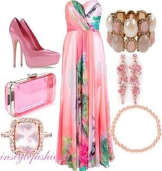 Fashion...I like everything,...except for the ring.lol