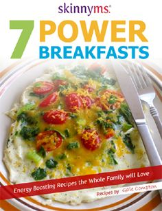 Check out these 7 Power Breakfast Recipes to kick off your morning the right way!! Back by popular demand! #breakfast #recipes #skinnyms