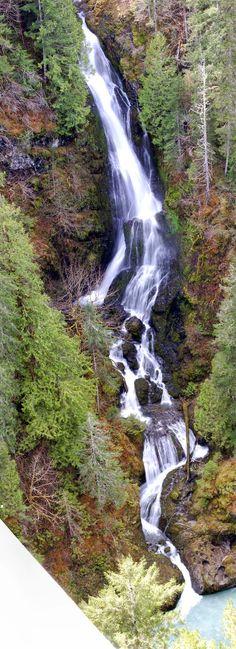 Vincent Creek Falls - Olympic Peninsula Waterfall Trail