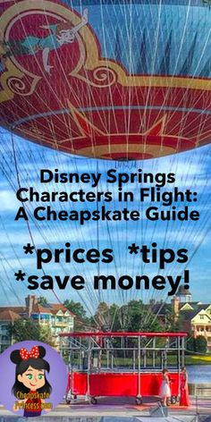 Your Guide to Characters in Flight at Disney Springs - location, tips to save money, and tips to fight motion sickness Disney Springs Florida, Disney World Florida, Walt Disney World Vacations, Disney World Tips And Tricks, Disney Tips, Disney World Princess, Disney Resort Hotels, Motion Sickness, Disney Website