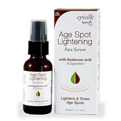 Hyalogic Episilk ASL Serum  Age Spot Lightening Serum  Contains Hyaluronic Acid  Gigawhite  Lightens Age Spots  Evens Skin Tone  1 oz *** Click on the image for additional details.