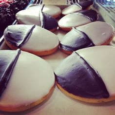 Black and white cookies!