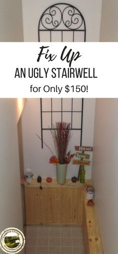 Fix Up That Ugly Stairwell - DIY Reno - Country Living in a Cariboo Valley Country Decor, Country Living, Rustic Decor, Country Life, Basement Renovations, Home Renovation, Farmhouse Renovation, Basement Plans, Basement Ideas