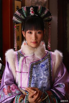 Legend of Zhen Huan Oriental Fashion, Asian Fashion, Orientation Outfit, Empresses In The Palace, Chinese Makeup, Hair Decorations, Chinese Clothing, Folk Costume, Costumes
