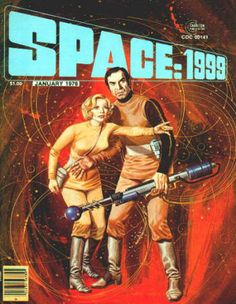 Space: 1999 Magazine #2, January 1976, VF/NM, cover art by Gray Morrow,