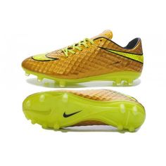 best service eb279 e6546 Nike HyperVenom Phantom FG Mens Soccer Boots- Golden Yellow