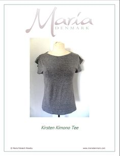My kimono tee pattern - free download. I will use it for at least one more t-shirt of the month (thinking something with buttons!)