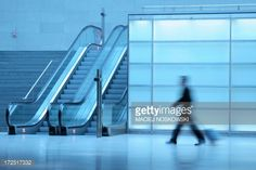 Stock Photo : Businessman walking in a corridor
