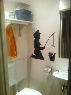 Banksy Wall Art, Home Decor, Decoration Home, Room Decor, Home Interior Design, Home Decoration, Interior Design