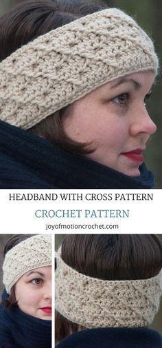 Headband with cross