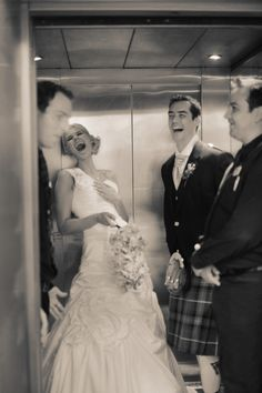 a day full of laughter at #Dynamicearth #Specialmoments #uniqueweddingvenue #Somethingdifferent #Bride&Groom