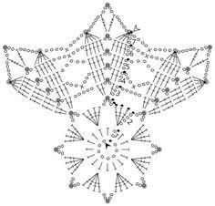 Magnificent snowflakes New Year! Crochet Snowflake Pattern, Crochet Motif Patterns, Crochet Stars, Crochet Circles, Crochet Snowflakes, Crochet Designs, Crochet Doilies, Crochet Flowers, Crochet Ball