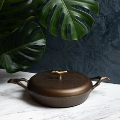 12 in Cast Iron Braising Pan — Nest Homeware