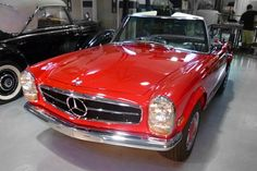 This 1968 Mercedes-Benz 280 SL is an excellent example of a W113 SL Series Roadster. It is presented in its original configuration of red paintwork (DB568) and black MB-Tex interior (DB131). The car was recently comprehensively restored at the Mercedes-Benz Classic Center. The refurbishment of this matching numbers car included the removal, rebuilt and reinstallation of all mechanical systems with special emphasis on correct functionality and appearance to factory new standards. $180,000